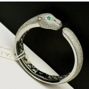 Jewelry - Cote D Argent Sterling Silver 925 Pave CZ Panther